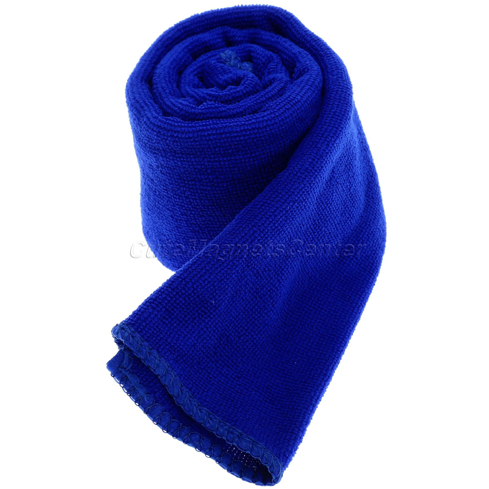 Microfiber Cleaning Cloth 30x70cm Car Wash Cloths Absorbent Car Drying Towel Home Dry Car Polishing Cloth Cleaning Washing Towel ultrafine absorbent towel used to clean the car