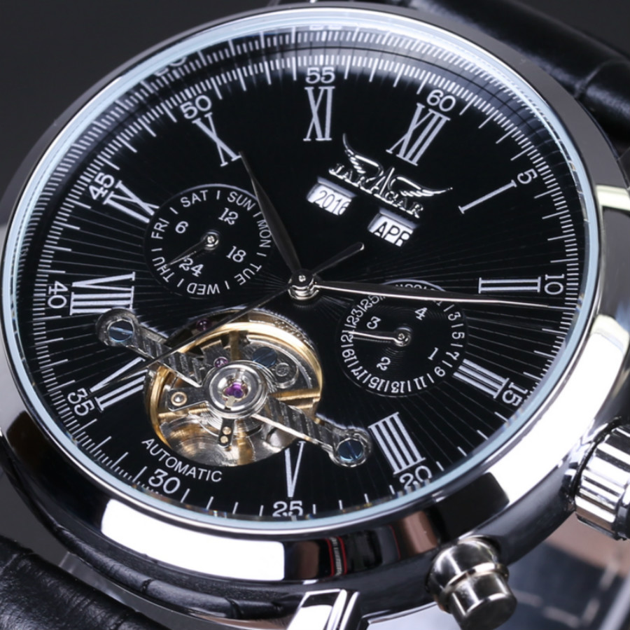 Mens watches Automatic mechanical watch tourbillon clock leather Casual business wristwatch relojes hombre top luxury binssaw 2016 men s watch automatic mechanical watch tourbillon clock leather casual business wristwatch relojes hombre top brand