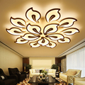 Новые Современные светодиодные люстры для гостиной  спальни  столовой  акриловый Железный корпус  домашняя люстра  светильники