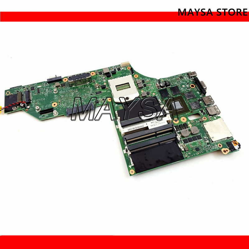 Laptop motherboard for Lenovo Thinkpad W540 N15P-Q3-A1 K2100M PC Mainboard 04X5333 LKM-1 12291-2 48.4LO14.021 tesed DDR3 image