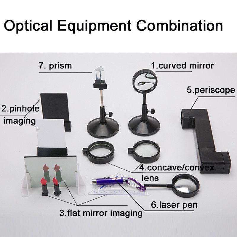 86 pièces nouveaux équipements d'expérimentation de physique de laboratoire ensembles complets pour la mécanique de l'électromagnétique optique - 3