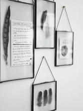 Europe Fashion Wall Hanging Glass Photo Frame Decor Picture Frames For Paintings and Pictures