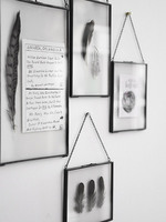Europe Fashion Wall Hanging Glass Photo Frame Wall Decor Picture Frames For Paintings and Pictures