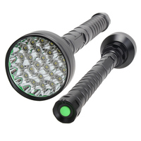Multifunction 32000LM T6 LED Flashlight Torch Hunting Light Lamp 4Pcs 18650 Charger Outdoor Tools Camping Hiking