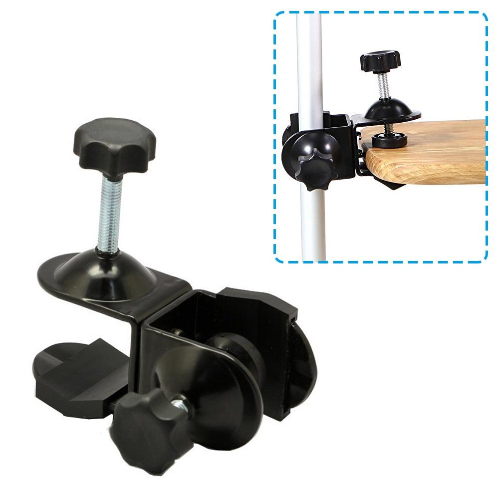 Black Stand Bracket Hyx Flash Light Stand Bracket C Type with Screw Hole