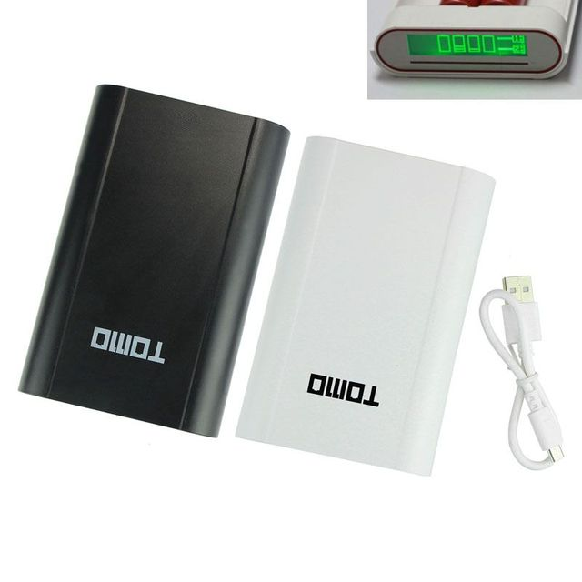 2016 HOT SALE New 2 color 4x18650 LCD USB Mobile Power Bank Battery Charger Holder For Smartphone best nice