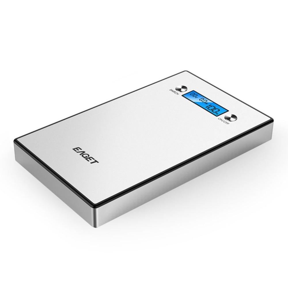 Eaget PT98 40000mAh Laptop Tablet External Battery Backup Portable Power Bank For Mobile Phones Durable Power