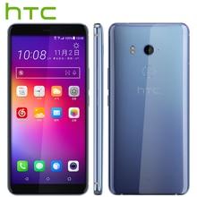 Nouveau HTC U11 Plus Mobile Téléphone 6 GB 128 GB Snapdragon 835 Octa base 6.0 pouces 1440×2880 p Android 8.0 IP68 Étanche À La Poussière Téléphone