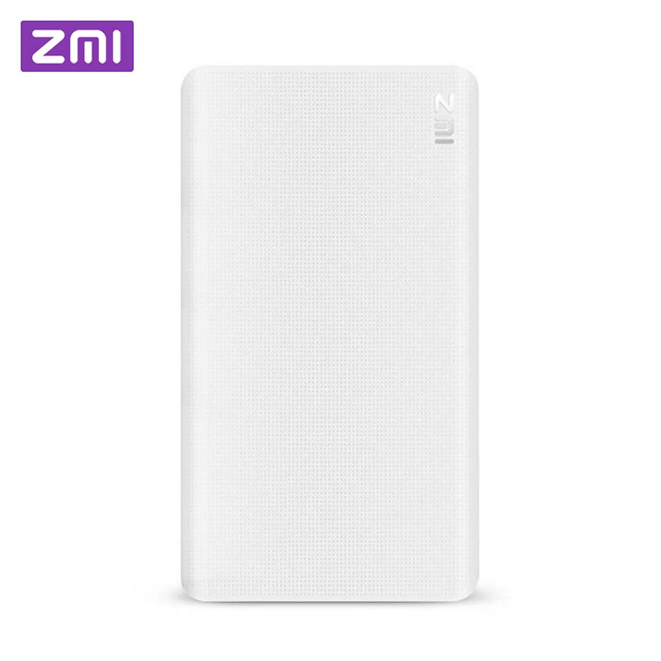 ZMI 5000 mAh Powerbank batterie externe portable charge bidirectionnelle QuickCharge QC 2.0 mini batterie externe pour téléphone iOSAndroid