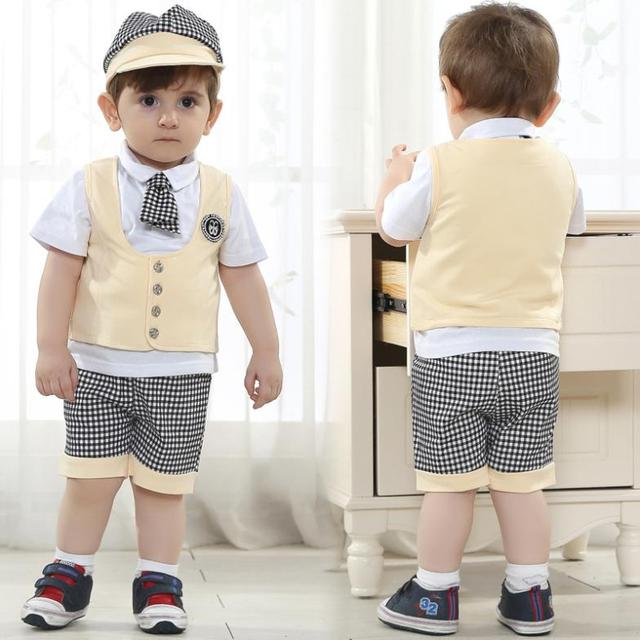 d4a8fd77c 2016 newborn baby boy clothes kids england style infant clothing set ...