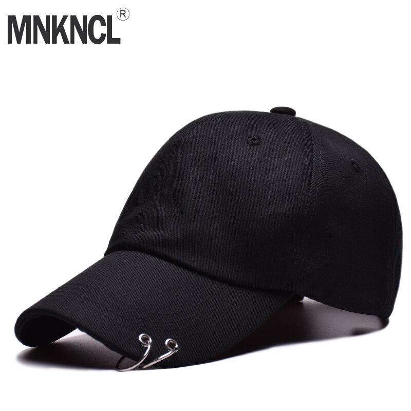 Di vendita caldo 2018 BTS LIVE LE ALI TOUR di Modo K POP Anello di Ferro Cappelli berretto Da Baseball regolabile 100% anello fatto a mano