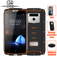 vkworld VK7000 Smarthphone IP68 Waterproof shockproof 5600mAh Android 8.0 Wireless Charge 4GB+64GB Face ID 13MP Mobile Phone