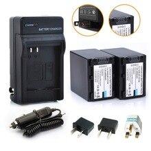 2 * 4500 mAh NP-FV100 FV100 batería / baterías 1 * cargador para Sony FV30 FV50 FV70 SX83E SX63E envío gratis