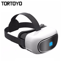 G200 Android All in One VR Glasses Immersive Helmet Quad Core 1GB+8GB Bluetooth 4.0 WIFI TF Virtual Reality Game 3D IMAX VR