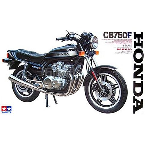 1/6 Honda Honda CB750F Motorcycle Model 16020