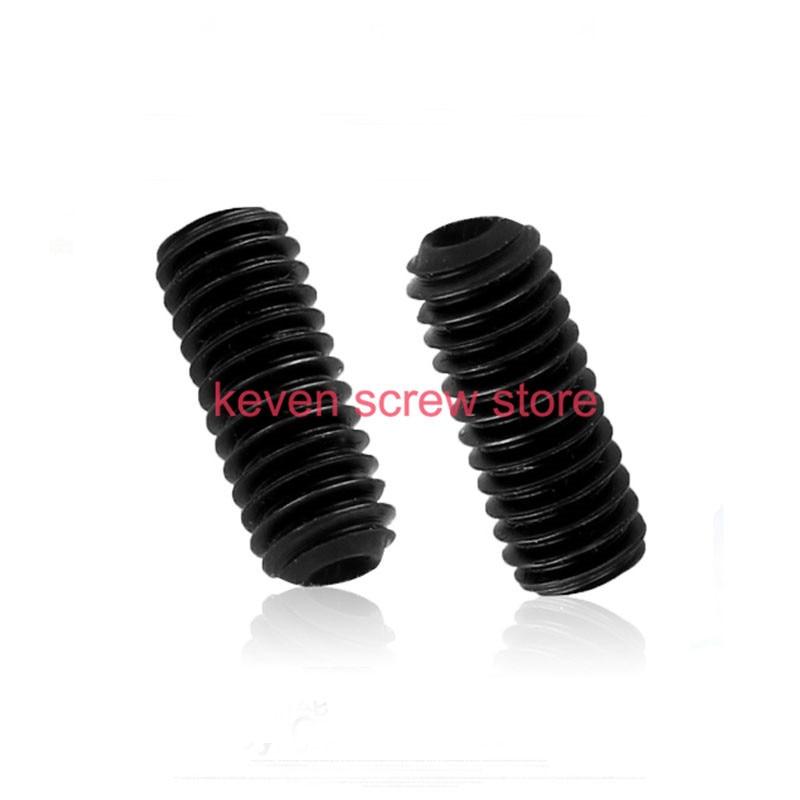 все цены на  100pcs/Lot M3x8 mm M3*8 mm 12.9 Alloy steel Hex Socket Head Cap Screw Bolts set screws with cup point  онлайн