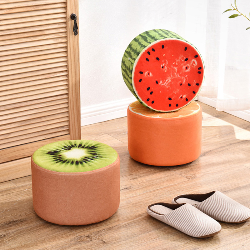 Stool creative fashion living room home sofa stool for shoe stool chair reclining child small stool solid wood fabric stool argo смеситель для кухни adam d 35