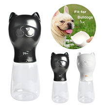 480ml Portable Pet Water Bottle Drinking Cup Pet Travel Outdoor Kettle Pet Supplies Drop shipping pet glass bottle meter pet preform