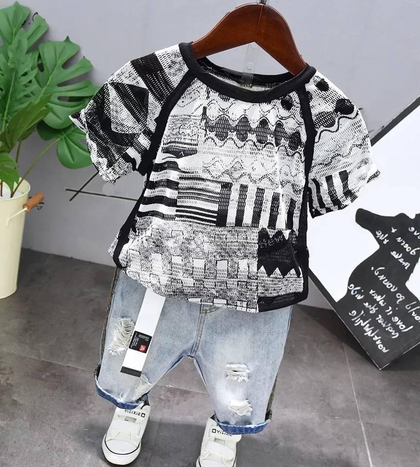 MOVEmen Long Shirt T-Shirt Toddler Baby Girls Long Sleeve Solid Button Denim Shirt Dress Jean Dresses Climbing Suit