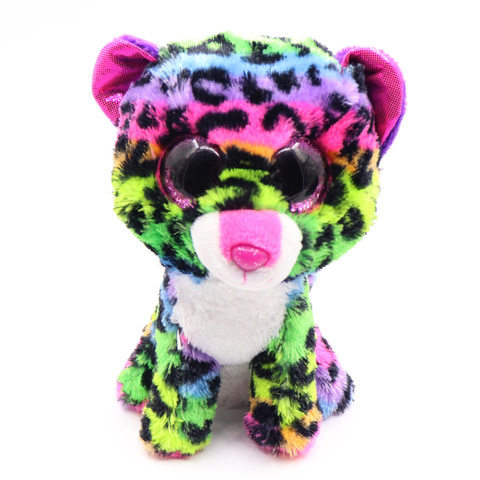 7e533d15fa7 Ty Beanie Boos gray cat plush doll baby girl birthday gift unicorn owl dog  fox 15cm big eyes plush animals   plush doll-in Stuffed   Plush Animals  from Toys ...