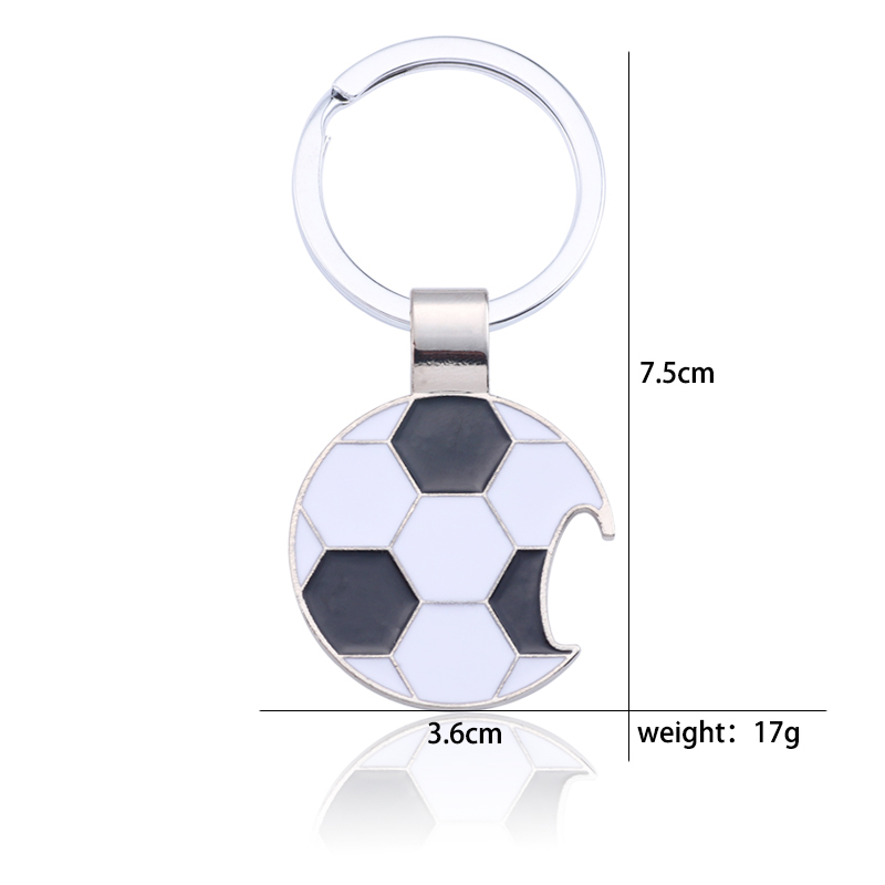 Trendy-Football-Key-Chain-Creative-Beer-Bottle-Opener-Keychain-Enamel-Black-White-Soccer-Key-Ring-Unisex (5)