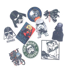 10 Styles Star wars Waterproof Funny Creative Sticker For Car Luggage Laptop Bike Motorcycle Phone Home Decal Toy Sticker