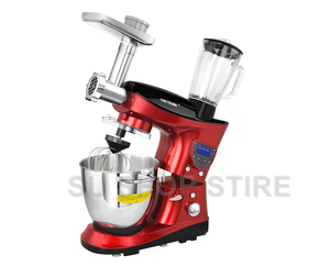 Image 5 - CHEFTRONIC 4 In 1 Multifunction Kitchen Stand Mixer SM 1088, 1000W 7.4QT Precise Heat Stainless Mixing Bowl with Meat Grinder B