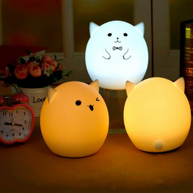 FENGLAIYI Cute Pig LED Night Light For Children Kids Baby Lamp ...