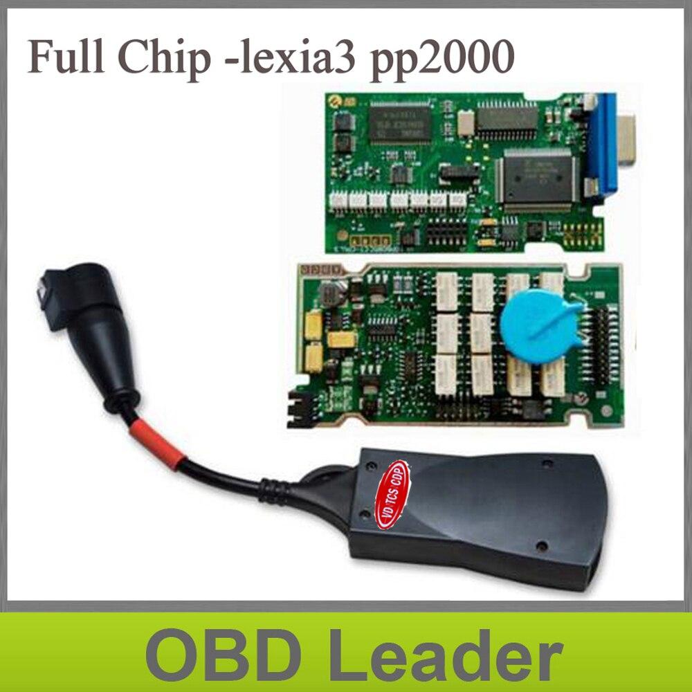 Цена за Наиболее стабильной для Lexia 3 полный чип Высокое качество Многоязычная для Lexia3 V48 PSA XS EVOLUTION Diagbox V7.65 Бесплатная Доставка