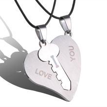 39e27c5062fb4 Popular Couples Puzzle Necklace-Buy Cheap Couples Puzzle Necklace ...