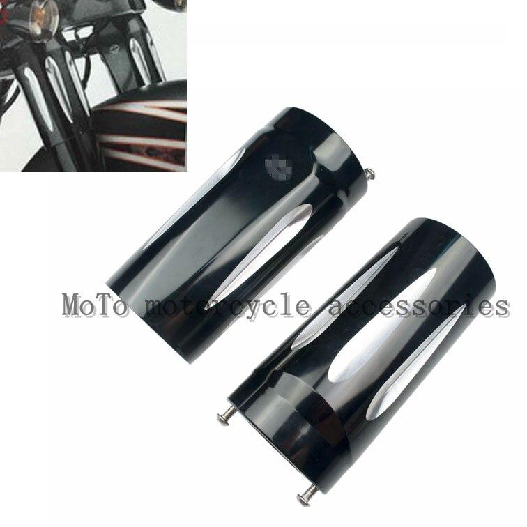 ЧПУ верхней Вилка слайдер Крышка литого хрома подходит для Харли-Роуд Король Стрит Глайд&Тьюринга&Трайк модели 1980-2010 2011 2012 2013