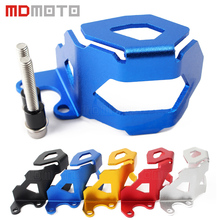 Motorcycle Aluminum Front Brake Fluid Reservoir Guard Protective Cover For BMW F800GS F700GS F800 GS F700 GS 2013 up
