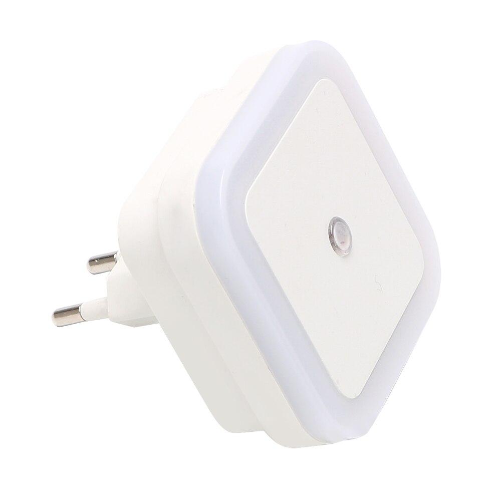 ITimo Square Novelty EU Plug Light Sensor Controlled Luminaria Hot Sale LED Night Light Lamp Baby Home Bedroom Decoration