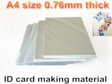 カード、学生カード、会員カード作る材料 Pvc ID ブランクインクジェット印刷