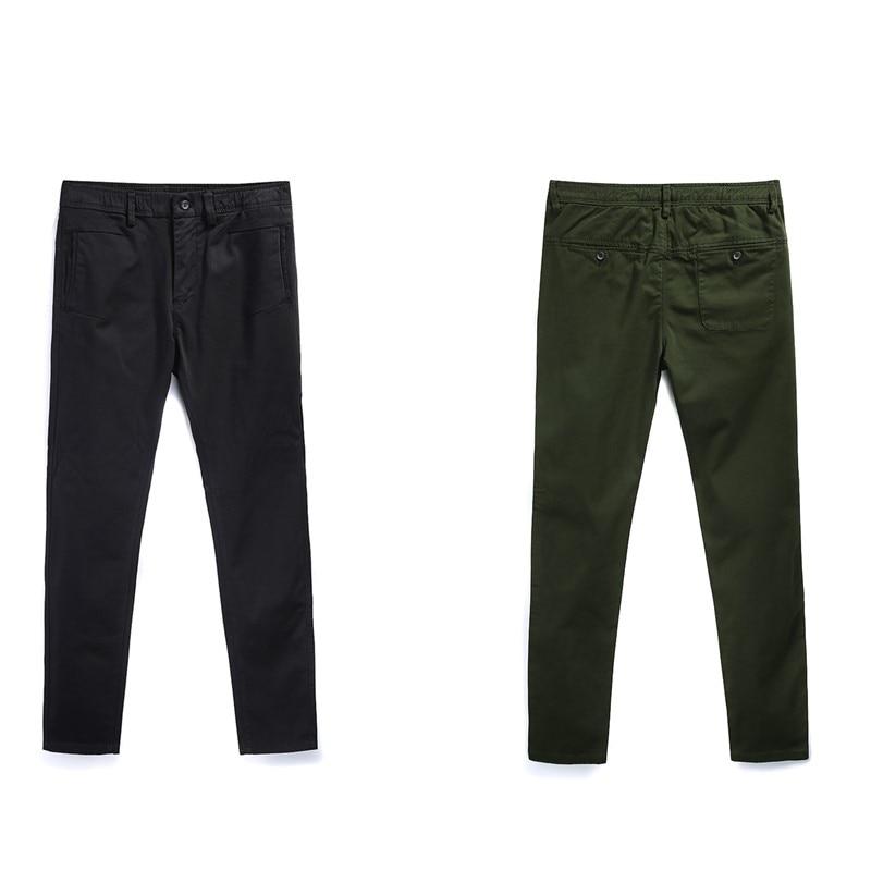 Pantalones finos para hombre 2019, pantalones casuales de primavera, estilo europeo, pantalones estrechos y rectos para viajes