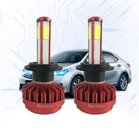 LED H7 H4 9005 9006 Light Bulbs For Cars 12V 8000LM 80W LED Car Lights Running