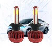 LED H7 H4 9005 9006 Light Bulbs For Cars 12V 8000LM 80W LED Car Lights Running