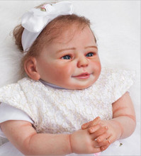 Soft Vinyl Kawaii Reborn Baby Dolls 20 inches Doll Reborn with Clothes Newborn Realistic bebe Reborn Dolls Babies Toys Juguetes
