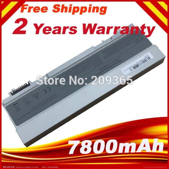 7800mah laptop battery . Fit Machine Models for Dell Latitude E6400 E6410 E6500 E6510 .Precision M2400 M4400 M4500 M6400 M6500 image