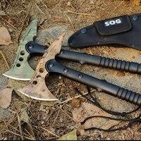 Ngụy trang Săn Trại Survival Tactical Tomahawk Dao Rựa Ngọn Lửa Ax Ax Ax Hatchet