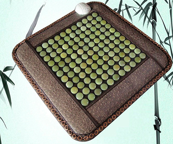 High Quality Heated Jade Massage Cushion on Chair for Office and Household Used 45cm*45cm Free Shipping 240311 high quality pu leather computer chair stereo thicker cushion household office chair steel handrails