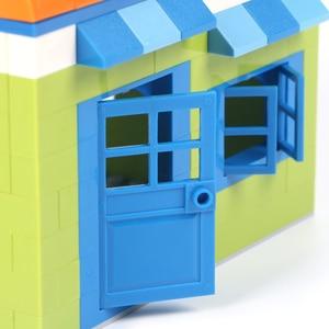Image 4 - 102 個ドア & 窓レンガ diy 家ビルディングブロックレンガのおもちゃ市建築家子供のための教育レゴと互換性