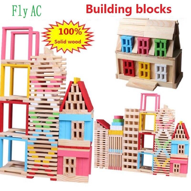 [Fly AC] Montessori nouveau 150 pièces Mini ensemble de Construction de concepteur modèle et jouet de Construction jouets éducatifs pour enfants cadeau d'anniversaire