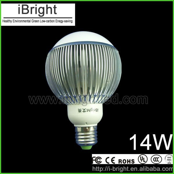 iBright energy saving e27 14w  high power led bulb/ home lighting in high quality and good price with CE FCC EMC RoHS