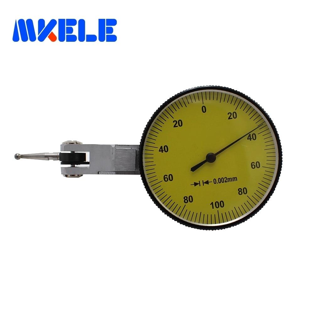 0.002 Mm Precision Dial Test Lever Indicator Gauge    Lever tools guanglu dial indicator 0 0 8mm 0 01mm dial test indicator dial test gauge measurement instrument measure tools