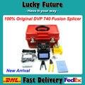 Máquina de fusión de empalme 100% Original DVP DVP-740 DVP-740 Fusionadora De Fibra Óptica FTTH Fibra Óptica Fusionadora ARCO