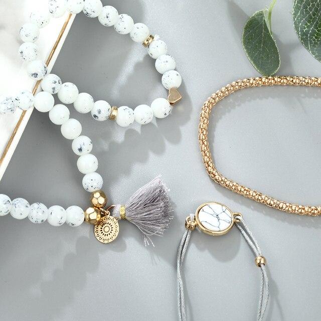 Men's And Women's Bracelets 4 Pieces / Set  3
