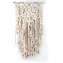 New tapestry interior decoration Creative pattern cotton woven Home wedding wall hangings curtain macrame