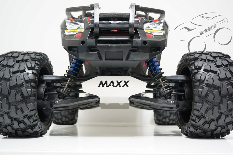 TRAXXAS X-MAXX chassis armor protection crash protection suit bottom dunlop winter maxx wm01 205 65 r15 t