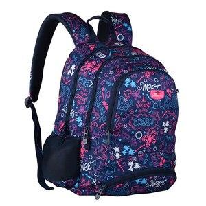 Image 2 - Новые рюкзаки для девочек подростков, модные школьные рюкзаки, Детские вместительные школьные рюкзаки для ноутбука для подростков